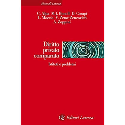 Diritto Privato Comparato: Istituti E Problemi (Manuali Laterza)