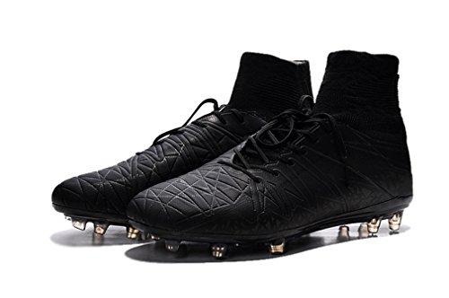 Hommes Chaussures de Football Hypervenom Phantom II fgi Noir Hi Femme pour bottes de football, Homme, noir, UK6.5/EUR40