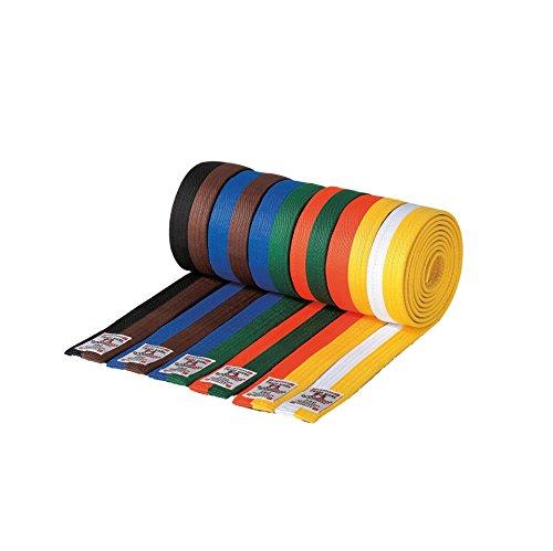 Danrho Taekwondo Judo Karate Budogürtel Kampfsport 4 cm zweifarbig