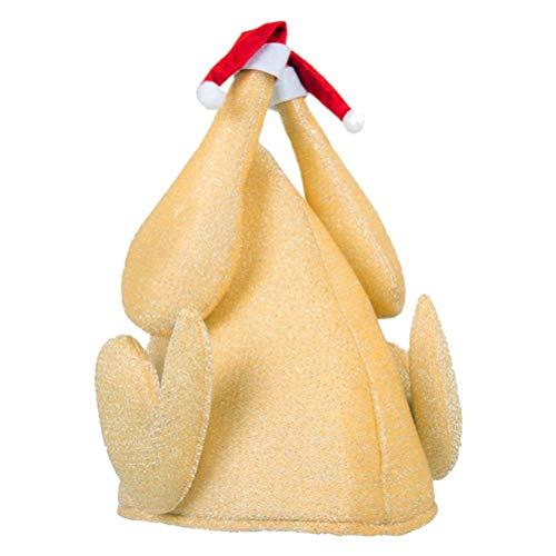 V-Ting Weihnachtsmütze Weihnachtsdekoration Türkei mütze Halloween Danksagung Kostüm Dekoration Party Hut Tiermütze
