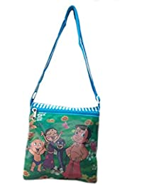 Cute Cartoon Printed Sling Bag For Kids Picnic/outdoor Adventure