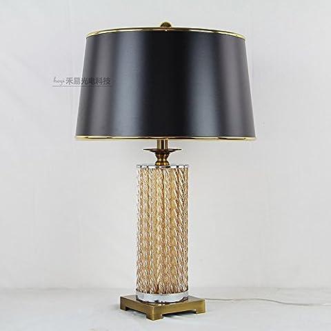 Elegante e lussuosa Crystal Decorative lampada lampada da tavolo Lampada