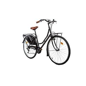 41KzYwhPG5L. SS300 Moma Bikes, Bicicletta Holanda Unisex – Adulto, Nero, Unica