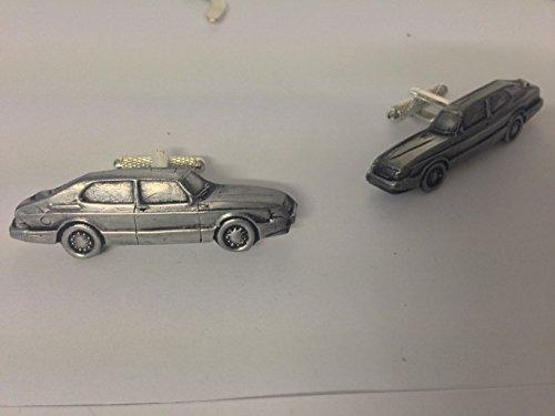 saab-900-saloon-3d-cufflinks-classic-car-pewter-effect-cufflinks-ref213