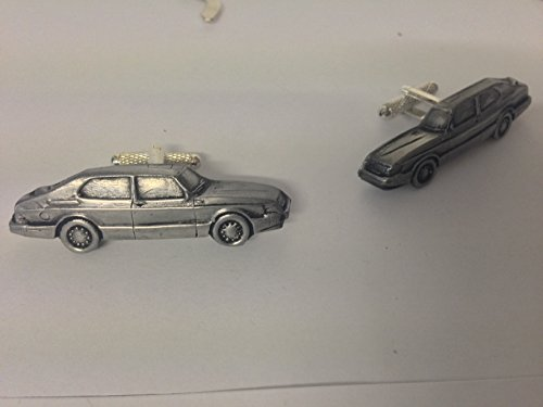 saab-900-limousine-3d-manschettenknopfe-classic-car-zinn-effekt-manschettenknopfe-ref213