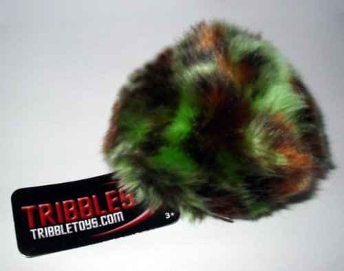 Tribble Toys Star Trek Plush Tribble - Snake Camouflage - Small Size
