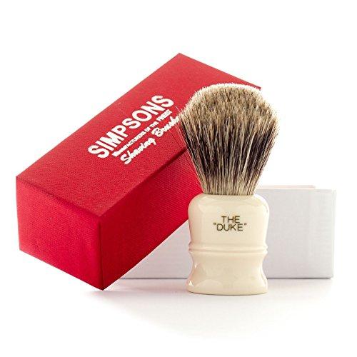 Simpsons Duke D2 Best Badger Hair Shaving Brush -