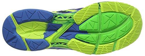 Asics Gel-Noosa Tri 10, Scarpe sportive, Uomo Midnight/Flash Yellow/Flash Green 4907