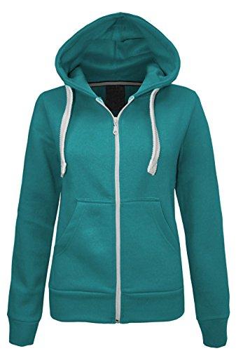 NEW PLAIN traje de neopreno para mujer chaqueta con cremallera Sudadera con capucha con cremallera en la parte superior y el sudor-camiseta de manga corta para