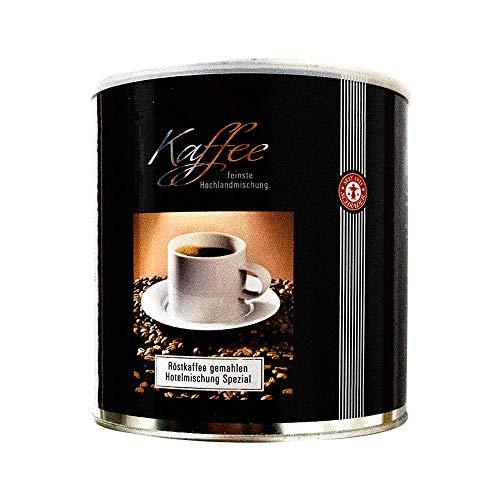 Kaffee Hotelmischung Spezial - Aromatisches Kaffeepulver gemahlen (1kg)