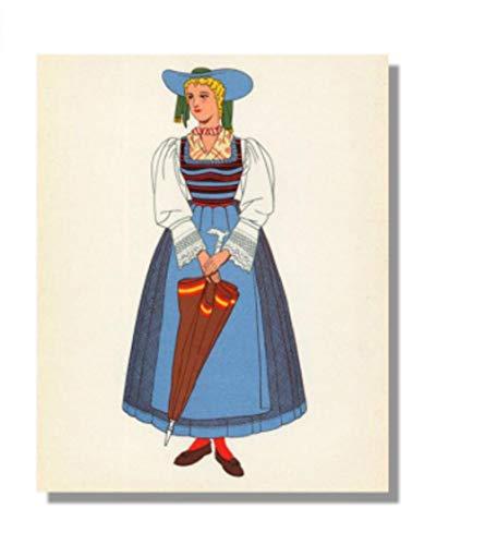 Van Gogh Kostüm - Ethnische Kostüme des diy digitalen Malereiporträt-Porträts,