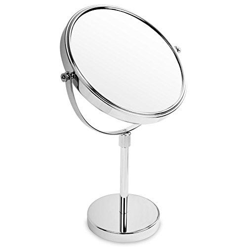 casa pura® Kosmetikspiegel | 3 hohe Vergrößerungsgrade wählbar (10-Fach)