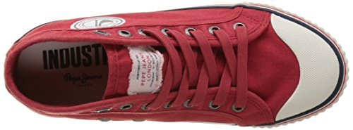 Pepe Jeans Jungen Industry Road Junior Low-Top Rot (Pepper Red)
