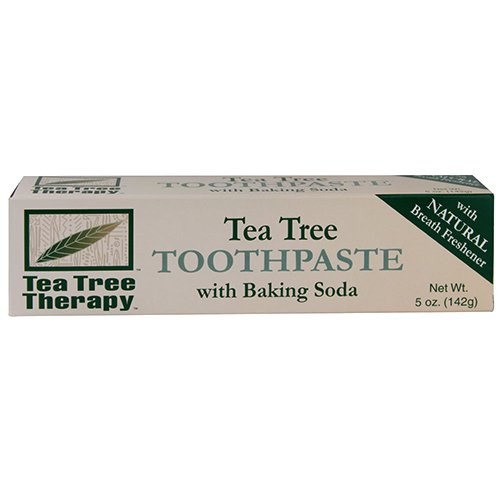 TEA TREE - Tea Tree Toothpaste with Baking Soda - 5 oz. (142 g)