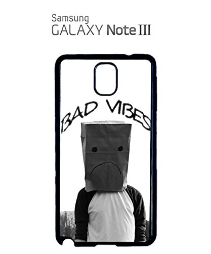 Bad Vibes Guy Ugly Unhappy Crying Boy Paper Bags Mobile Phone Case Samsung Galaxy S3 White Blanc
