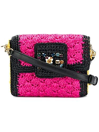 Dolce E Gabbana Borsa A Spalla Donna Bb6391ah6358b974 Viscosa Fucsia