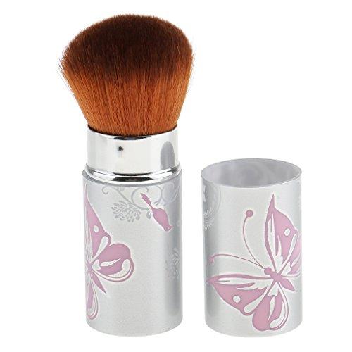 MagiDeal Brosse de Maquillage Cosmétique Télescopique Pinceau pour Fond de Teint / Poudre / Liquide / Crème -- Brush Haut de Gamme