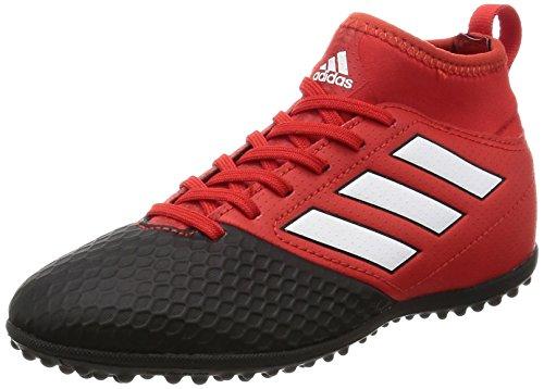 adidas Ace 17.3 Tf J, Scarpe per Allenamento Calcio Unisex - Bambini, Rosso (Red/Ftwwht/Cblack), 35 EU