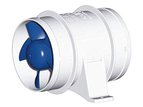Rule in Line Marine Bilge Blower, rutsch auf Anschlüsse, effizient und leise High Volumen Air Flow, 240-24V, 24 Volt -