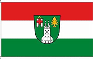 Anwesenheitsbanner Tuntenhausen - 40 x 250cm - Flagge und Banner