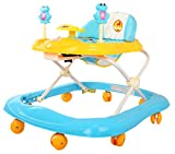 Baybee Smartwitty Stylish Baby Walker (Blue)