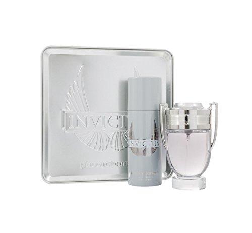 Paco Rabanne Invictus Set homme/men, Eau de Toilette Vaporisateur/Spray 100 ml, Deodorant Vaporisiert/Spray 150 ml, 1er Pack (1 x 250 ml)