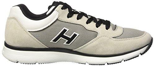 Hogan Hxm2540ws421fjs412n, Sneakers basses homme Multicolore (Grigio/City/Bianco)