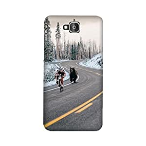 Yashas High Quality Designer Printed Case & Cover for Huawei Honor Holly 2 Plus