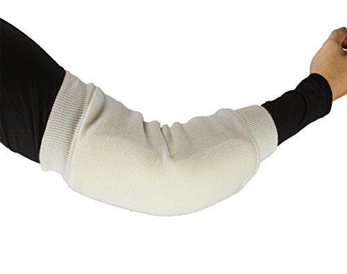 ObboMed MB-1930M Ellenbogen- Fersenschutz, Atmungsaktives Poly Schaum Material, Fördert die Belüftung der Haut und Verringert Druck - 1 Paar - Arm Umfang : 25,4-40,6 cm -