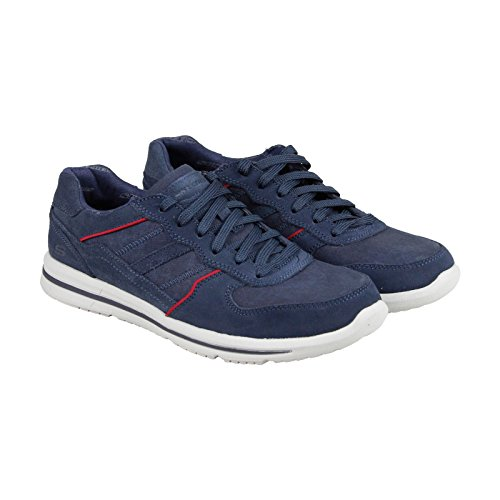 skechers-doren-frazer-mens-blue-suede-lace-up-sneakers-shoes-11