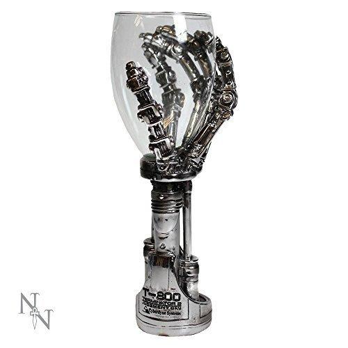 Nemesis Now - Terminator 2 Hand Goblet - 19cm - B1457D5 - New