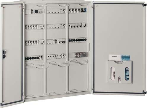 Siemens Indus.Sector Wandverteiler AP 8GK1032-3KK21 800x550x140mm,IP43 Schaltschrank (leer) 4001869256917