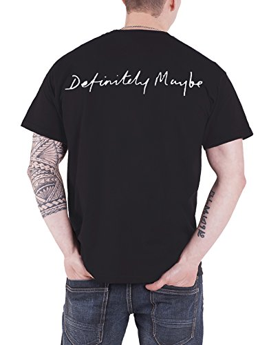 92cecb349fdd Oasis T Shirt Band Logo Definitely Maybe Album Official Mens Black - Buy  Online in Oman. | Apparel Products in Oman - See Prices, Reviews and Free  Delivery ...