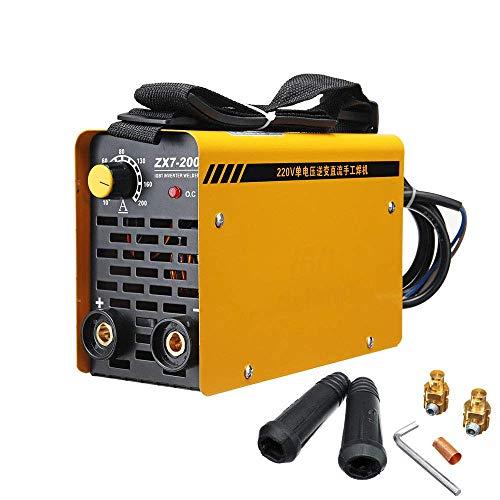 SISHUINIANHUA ZX7-200 220V 20-200A IGBT Schweißgerät MMA Tragbarer Schweißinverter für Iron & Steel HT1870-1871