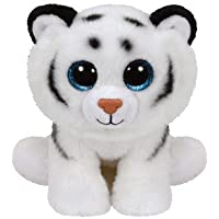 Ty - Classics Tundra, Tigre de Peluche, 15 cm, Color Blanco (42106TY) - Peluches y Puzzles precios baratos