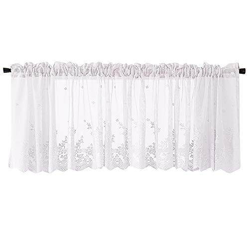 DIKHBJWQ Vorhang Haken Schlafzimmer Möbel Kurze Gardinen Vorhang ösen Scheibengardine 80 cm Hoch Kurze Vorhänge (Baby-jungen-fenster Volant)