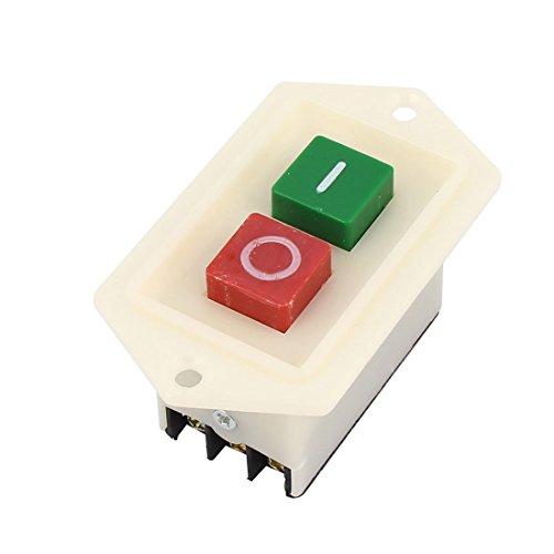 Preisvergleich Produktbild AC 380V 10A ON / OFF 2 Position 3 Phase Power Push Button Switch LBC3-10