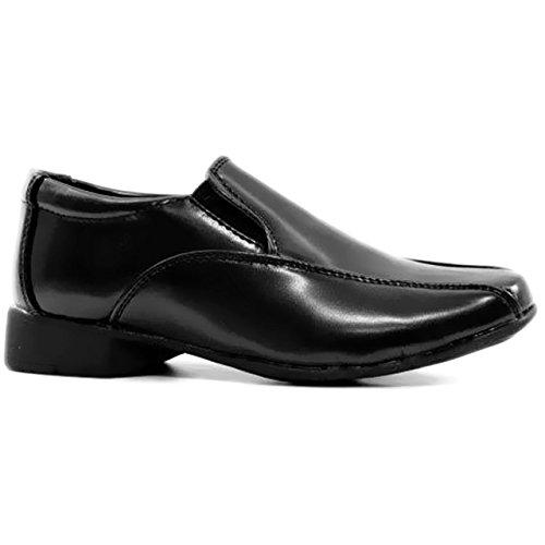 Kids Boys Childrens Back To School Shoes Casual Formal Smart Shoe Wedding...