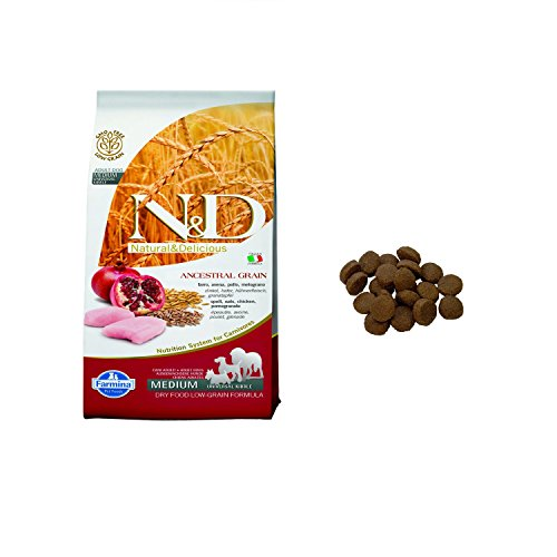 Farmina-ND-Adult-Medium-Low-Grain-Pollo-e-Melograno-12-kg