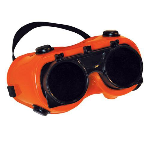 Preisvergleich Produktbild Welding Safety Goggles/glasses Clear -flip Up Lens- Brazing by Cablefinder