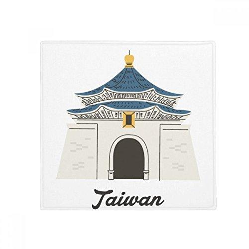 DIYthinker Taiwan-Reisen Chiang Kai-Shek Memorial Hall Anti-Rutsch-Boden Haustier-Matten-Platz Badezimmer Wohnzimmer Küche Tür 60 / 50cm Geschenk 50X50Cm Mehrfarbig -