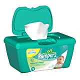 Pampers Natural Clean Wipes Tub (72 Sheets)