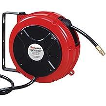 Metalworks HAL00808 - Enrollador de manguera 8 mtr
