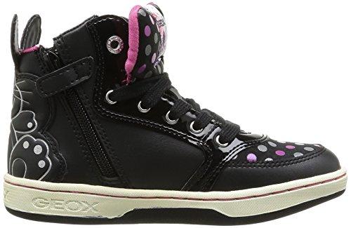 Girl Maltin Schwarz black Sneaker Mädchen Jr Geox q1FwxcBRER