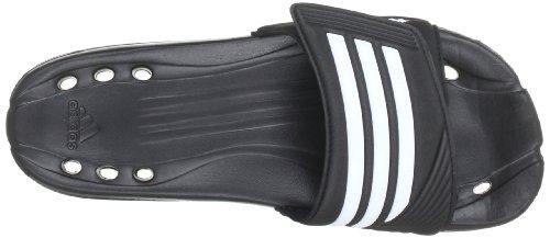 adidas Caruva Vario G13779 Unisex-Erwachsene Sandalen, Schwarz (Black 1 /White /White), 36.5 EU -