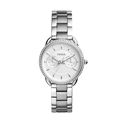 Fossil Women's Analogue Quartz Watch with Stainless Steel Strap ES4262