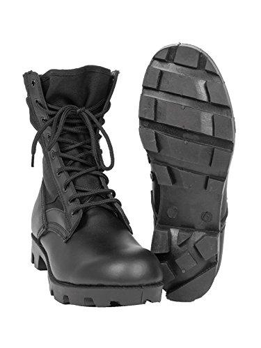 Chaussures Rangers Panama Noires Noir
