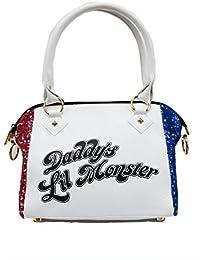 Harley Quinn Suicide Squad Daddy's Little Monster Handbag