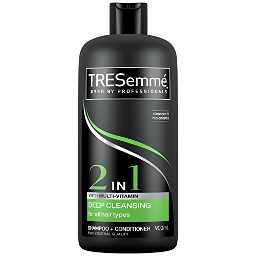 TRESemme Cleanse and Renew 2-in-1 Shampoo Plus Conditioner, 900 ml, Pack of 4