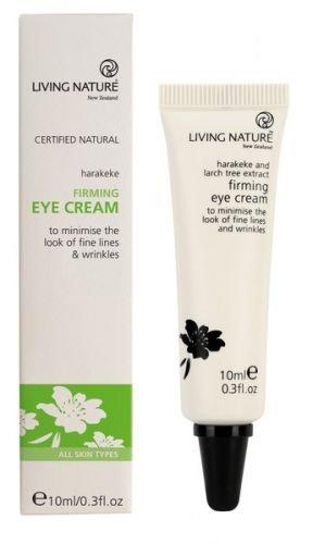 Living Nature Firming Eye Cream - straffende Augencreme 10 ml (Honig-augencreme)